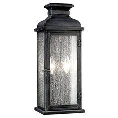 Feiss OL11101DWZ 2-Light Outdoor Sconce