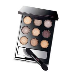 "With nine metallic eye shadow shades, you can connect the ""dots"" together in different ways to create unlimited looks! 0.18oz. net wt. each shade. https://www.avon.com/product/43333/mark-on-the-dot-neutral-eye-color-compact"