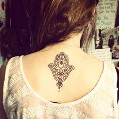 Hand of Hamsa Tattoo