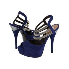 blue Fashion 2012 - High heel shoes - Collection for 2012 | Girls Talk found on Polyvore