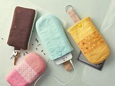 DIY ice cream phone cover ! cute sweet icy treat