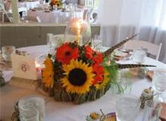 Fall Centerpiece or home accent or gift