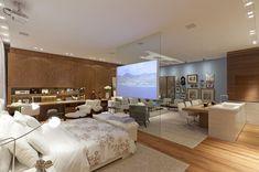 Decor Salteado - Blog de Decoração e Arquitetura : TVs em vidros e espelhos – saiba como aderir a essa sofisticada tendência!