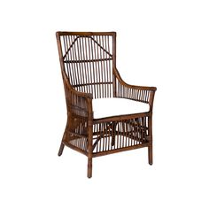 Winston Rattan High Back Arm Chair purchase 4 Dining Room Table Chairs, Accent Chairs For Living Room, Eames Chairs, Dining Arm Chair, Living Room Decor, Rattan Chairs, Blue Chairs, Arm Chairs, Rattan Furniture