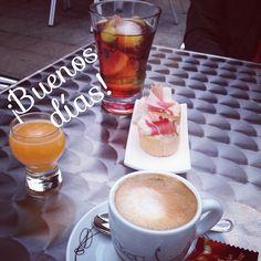 Así comenzó nuestro último sábado de vermut en casa... ¡Feliz Sábado!  #ideassoneventos #blog #bloglovin #organizacióndeventos #comunicación #protocolo #imagenpersonal #bienestarybelleza #decoración #inspiración #bodas #buenosdías #goodmorning #sábado #saturday #happy #happyday #felizdía #weekend #desayuno #breakfast #ñamñam #vermut #café #jamónserrano #zumodenaranja #ricorico #instafood #asturias #paraísonatural