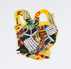 Mejores proyecto/ongoing/recent-works/ embroidery on a plastic bag Wow! Textile Texture, Textile Fiber Art, Textile Artists, Design Textile, Textiles Techniques, Plastic Art, Fabric Manipulation, Recycled Art, Elementary Art