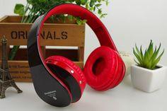 Bluetooth Headphones Headband Headsets Support TF card FM Radio Hands-Free MP3 Player Super Bass HiFi Sound