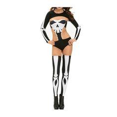 Disfraz Esqueleto Sexy Halloween Queen - 2089