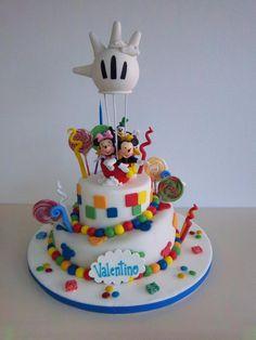 Torta Globo Mickey