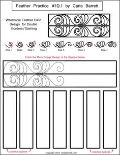 Feather Worksheets 1-10
