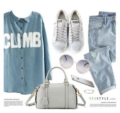 """YESSTYLE.com"" by monmondefou ❤ liked on Polyvore featuring Baimomo and Wrap"