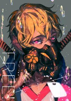 Iwatobi Swim Club and Tokyo Ghoul Anime Guys, Manga Anime, Anime Art, Anime Mascaras, Nagisa Free, Crossover, Otaku, Swimming Anime, Free Eternal Summer