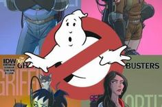 We thought this was coming. IDW are relaucnhing their Ghostbusters comic as The New Ghostbusters with four interlinking covers (and a fifth Original Ghostbusters, Extreme Ghostbusters, Ghostbusters Poster, Ghostbusters Party, Cartoon Cartoon, Cartoon Characters, Die Geisterjäger, Comic Poster, Movie Posters