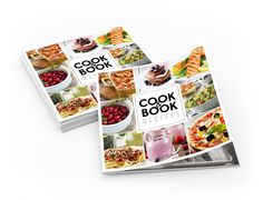 Recipes by Daniela Marschner, via Behance