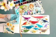 birdie sketchbook