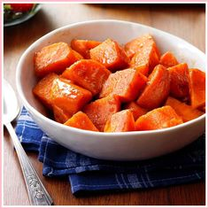 Twice Baked Candied Sweet Potatoes Homemade Hooplah. Best Homemade Candied Sweet Potatoes Recipe For Thanksgiving. Southern Candied Sweet Potatoes Recipe Add A Pinch. Home and Family Sweet Potato Side Dish, Potato Side Dishes, Sweet Potato Recipes, Steamed Sweet Potato, Thanksgiving Side Dishes, Thanksgiving Recipes, Holiday Recipes, Recipes Dinner, Holiday Ideas