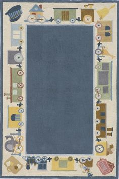 Rosenberry Rooms has everything imaginable for your child's room! Share the news and get $20 Off  your purchase! (*Minimum purchase required.) Classics Train Rug