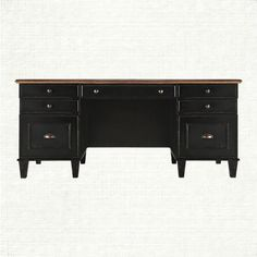 View the Beckett Executive Desk from Arhaus. The Beckett Executive Desk System is designed to accompany the Beckett Cabinet with its overwhelming Fr