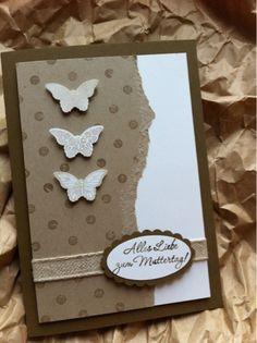 Stempelelfe: Schmetterlinge in Naturtönen