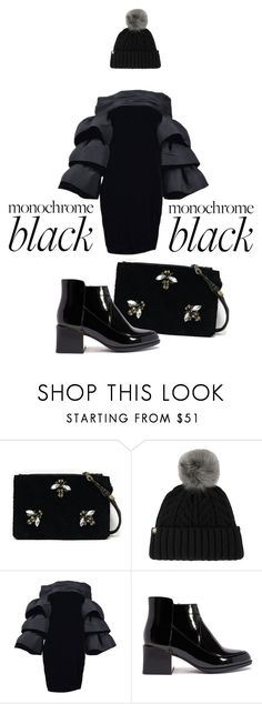 """""""glam rock"""" by ordalie ❤ liked on Polyvore featuring Angela Valentine Handbags, UGG and Pierre Cardin"""