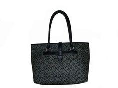 Women's Tommy Hilfiger Large Shopper Handbag (Black Alpaca)