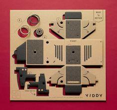 VIDDY: el kit de cámara estenopeica que puedes armar en 30 minutos « Hacedores.com | Maker Community