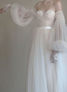 Chic Elegant Flowy Long Backless Beach Wedding Dresses With Sleeves Romantic Bridal Dress Dream Wedding Dresses, Bridal Dresses, Wedding Gowns, Prom Dresses, Wedding Lace, Ethereal Wedding Dress, Autumn Wedding, Elegant Wedding, Pretty Dresses
