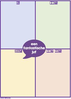 Startactiviteit: Een fantastische juf! Hoort bij de activiteit: Een fantastische klasgenoot Back 2 School, Beginning Of The School Year, Too Cool For School, Visible Learning, Co Teaching, Teacher Inspiration, School Posters, School Classroom, School