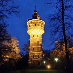 Deventer watertoren 13 December 2014 - Fotograaf Moric van der Meer