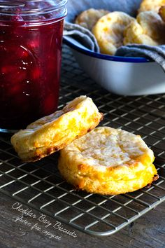 Gluten free cheese biscuits