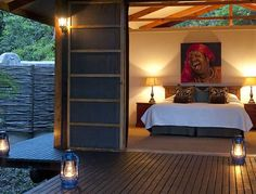 Makakatana Bay Lodge   in South Africa, KwaZulu-Natal, Northern KwaZulu-Natal, Zululand and Elephant Coast, Isimangaliso, St Lucia