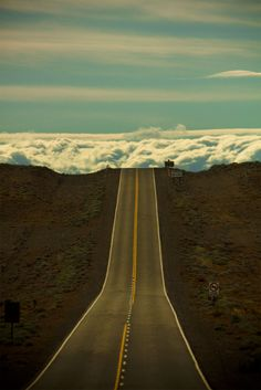 Into the clouds