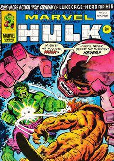 Mighty World of Marvel #213, Hulk vs Gremlin