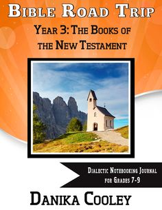 Bible Road Trip Year Three Dialectic Notebooking Journal for grades 7-9 can now be purchased as a full-year PDF download
