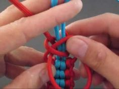 Paracord Fusion Ties - Volume 1: http://www.amazon.com/Paracord-Fusion-Ties-Volume-Bundles/dp/098555780X The Striker (paracord tie) is the unification of Endless Falls and the Backbone Bar tying techniques. Generating a solid looking and feeling bar, the tie makes an awesome key fob (shown in the attached video), bracelet, or strap. Video produc...