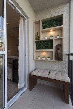Creative small balcony ideas to glam up your tiny space Small Balcony Design, Small Balcony Decor, Balcony Ideas, Terrace Ideas, Garden Ideas, Patio Ideas, Garden Art, Apartment Balcony Decorating, Apartment Balconies
