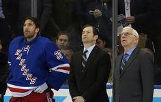 Henrik Lundqvist, Mike Richter and Eddie Giacomin. Yeah...goalie love. :-)