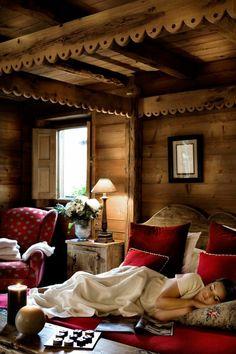 wunderschönes schlafzimmer im landhausstil