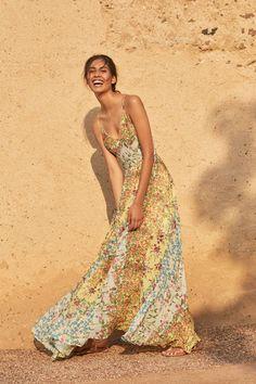 Garden Song Maxi Dress
