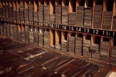 Interlíneas de 2 y 6 puntos.  (BunkerType Letterpress)