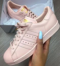 new styles bc71f 49738 pink sneakers pink rose rose gold adidas adidas shoes adidas superstars  shoes adidas originals adidas pale sneakers superstars adidas superstar  glossy peach ...