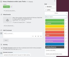 Drowning in sent pitches and half-baked ideas? One freelance writer regained her sanity with Trello.