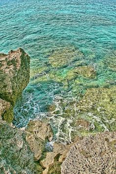 Okinawa - breathtaking water and coral reefs, but climate change is affecting it