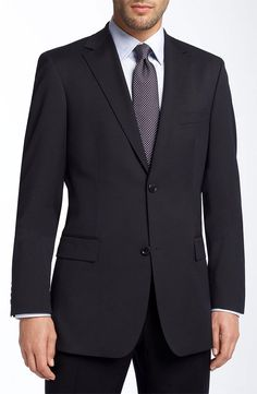 this image is a great standard for men's interview attire. Remember to make sure the suit fits correctly and get it cleaned!