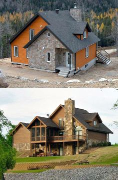 Needs a big porch added... but I like it! :-D - Vacation House Plan chp-10483 at COOLhouseplans.com