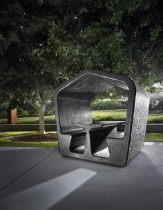 Alexander Lotersztain has designed the HAUS series of conversation pods