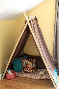 Easy Kids Tent - I really want to make this! : Easy Kids Tent - I really want to make this!