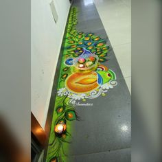Easy Rangoli Designs Diwali, Rangoli Designs Latest, Rangoli Designs Flower, Rangoli Ideas, Colorful Rangoli Designs, Diwali Rangoli, Rangoli Designs Images, Beautiful Rangoli Designs, Simple Rangoli