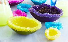 Crystal Geode Eggs: 10 Super Easy Science Experiments That Will Impress Your Kids - mom. Science For Kids, Activities For Kids, Science Activities, Science Week, Science Party, Science Fun, 6th Grade Science Projects, Projects For Kids, Crafts For Kids
