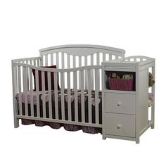 "Sorelle Presley Crib and Changer - White - C International - Babies ""R"" Us"